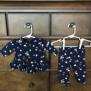 Baby Gap Girl 0-3 Month 2 Piece Outfit